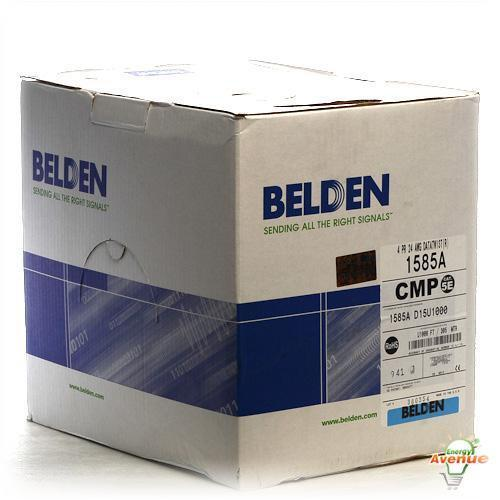 Belden 1585a D15u1000 Blue Multi Conductor Cat5e Nonbonded